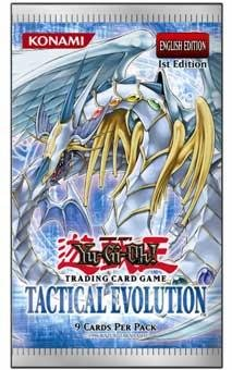 Yu-Gi-Oh Tactical Evolution English Booster Box 24 Count Loose Pack Lot TCG