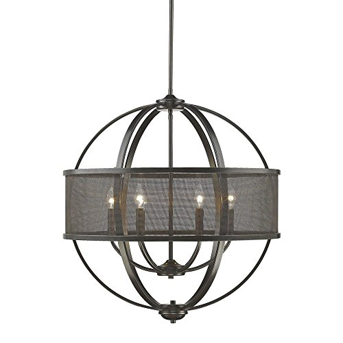 Etruscan Bronze 6-Light Chandelier (Etruscan Bronze 6 Light)