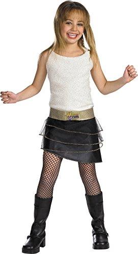 Disguise Girls Hannah Montana Qual Kids Child Fancy Dress Party Halloween Costume, L -
