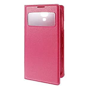 SOL Solid Color PU Leather Full Body Case With Stand for Samsung S4(Assorted Color)