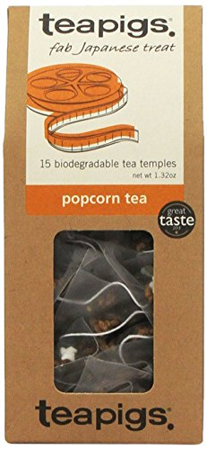 TEAPIGS Popcorn Tea, 15 CT