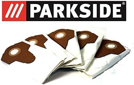 Parkside 5 VLIES - Bolsas para aspiradora PNTS 1250, 1300, A1, B1, B2, B3, C1, C3, D1, E2, todos los modelos: Amazon.es: Hogar