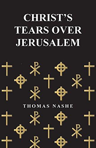 Christs Tears (Christ's Tears Over Jerusalem)