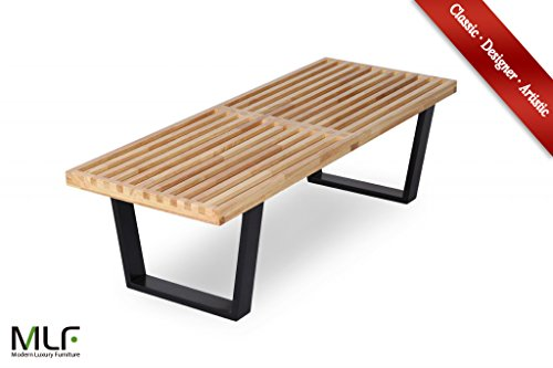 lch-nelson-platform-bench-replica-with-black-painted-solid-hardwood-legs-4-feet-natural