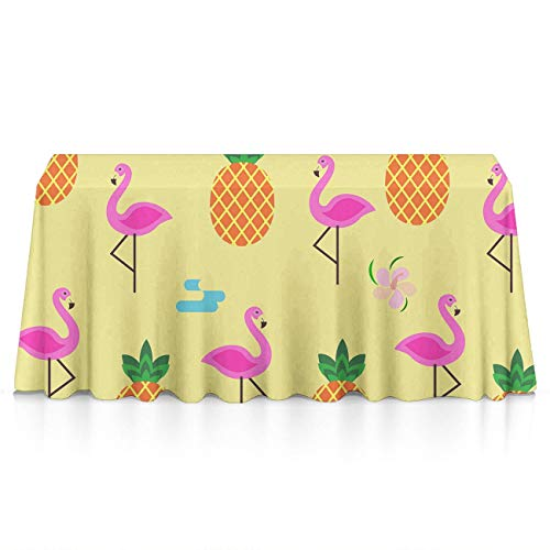 NiYoung Table Cloth, Spillproof Stain Resistant Table Covers, Rectangular Pineapples Skull Table Toppers for Picnic, Catering Events, Celebrations - Table Art