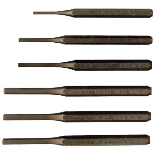 Craftsman 9-43167 Roll Pin Punch Set, 6-Piece