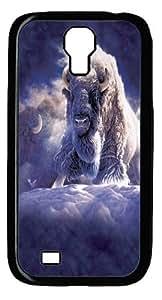 His Divine Presence Bison 2 Custom Samsung Galaxy I9500/Samsung Galaxy S4 Case Cover Polycarbonate Black