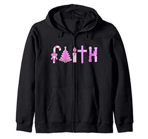 Christmas Faith Zip Hoodie