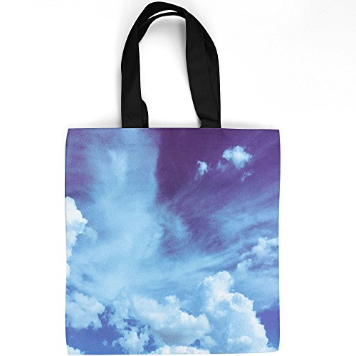 Westlake Art   Cloud Blue   Tote Bag   Fashionable Picture Photography Shopping Travel Gym Work School   16X16 Inch  7Cccf
