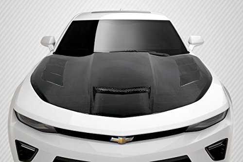Carbon Creations ED-XYK-213 TS-1 Hood - 1 Piece Body Kit - Compatible For Chevrolet Camaro 2016-2018