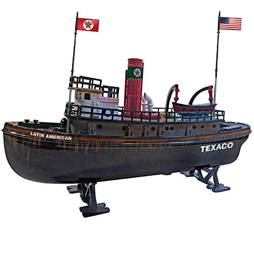 "ROUND 2 LLC Texaco Latin American Tugboat Die Cast Boat Coin Bank - 9"" Long from ROUND 2 LLC"