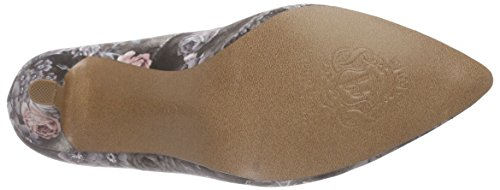 Bruno Banani Pumps, Women's Closed Pumps Multicolour - Mehrfarbig (Black Multi 049)