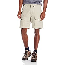 Wrangler Men's Authentics Utility Short, Fossil Rock, 34