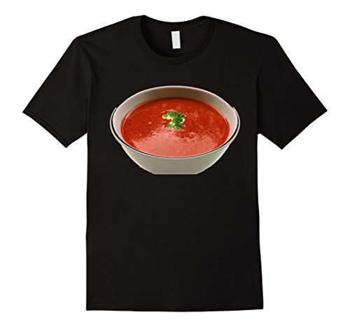 Of Bowl Soup Costume (Mens Bowl of Tomato Soup Comfort Food T-Shirt XL)