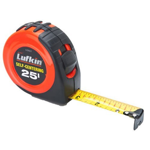 Lufkin L725SCTMP Self Centering Tape 25 Feet