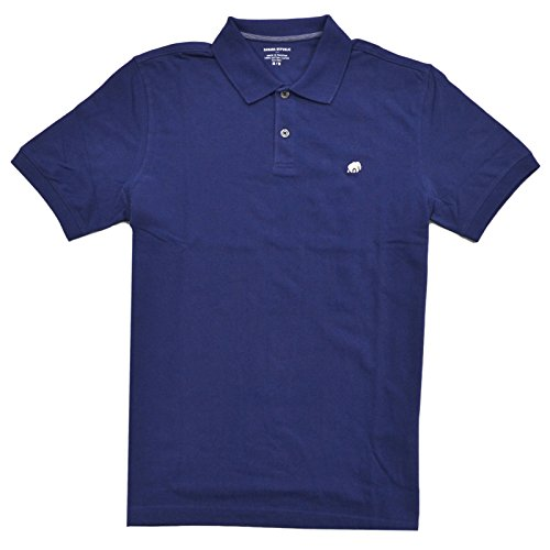 banana-republic-pique-elephant-logo-polo-shirt-l-blue