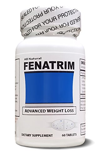 FENATRIM Weight Loss Diet Pills (One Bottle | 60 Oval Tablets)- Appetite Suppressant & Fat Burner | Energy For Sale