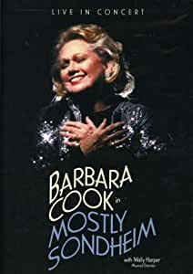 Barbara Cook In Mostly Sondheim [2003] [DVD] [Reino Unido]