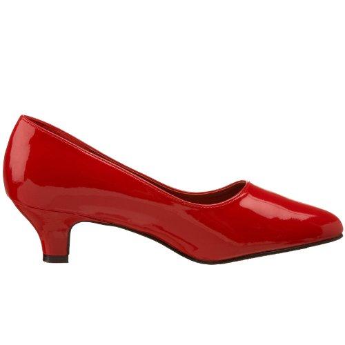 FAB Noir Femme Rot Talons à Chaussures Pleaser Red Rouge EU Pat Schwarz 420W OwdqYOAnxT