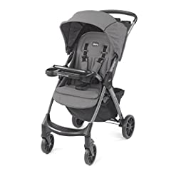 The Chicco Mini Bravo Plus Lightweight Stroller makes every excursion simpler with user-friendly touchpoints, precise maneuverability, and click-in attachment for all KeyFit and Fit2 infant car seats. An easy-to-reach handle activates a compa...