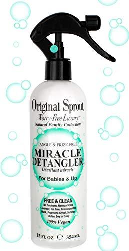 Original Sprout Miracle Detangler Detangler For Kids 12 oz (Best Detangler For Kids)