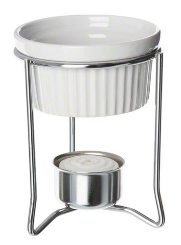 American Metalcraft (BWR34) 2 oz Ceramic Ramekin Butter Warmer