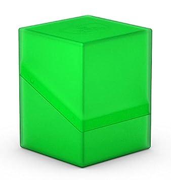 Deckboxen Kaartspel: materiaal, acc. ULTIMATE GUARD BOULDER EMERALD Standard Size DECK CASE 100 NEW Card Storage Box