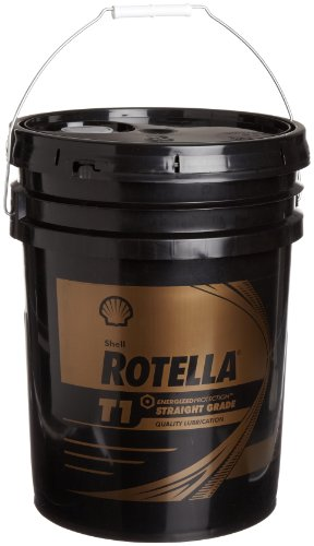 Shell Rotella 550019892 T1 40 Heavy Duty Engine Diesel Oil - 5 Gallon Pail
