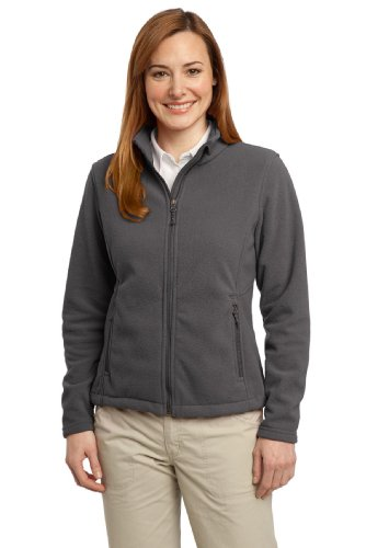[Port Authority Women's Value Fleece Jacket S Iron Grey] (Daria Costume)