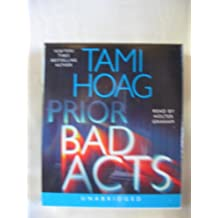 Prior Bad Acts by Tami Hoag Unabridged CD Audiobook