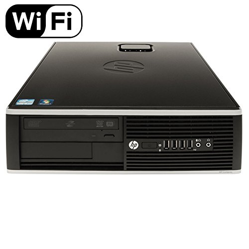 HP Elite 8300 Small Form Factor Desktop Computer PC (Intel Quad Core i5-3570 3.4GHz Processor, 16GB RAM, 1TB HDD, WIFI, USB 3.0) Windows 10 Professional (Certified Refurbished) - 16 Gb Computer Ram