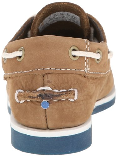 TIMBERLAND, 6875R, nobuck * Brown WITH BLUE, marrón