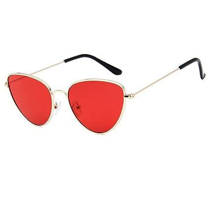 9b75819377 LLLM Gafas de sol Gafas de Sol para Mujer Gafas de Sol con Montura de Metal