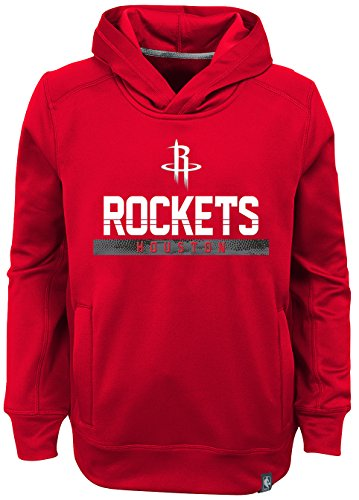 "NBA Kids & Youth Boys ""Playmaker"" Pullover Hoodie Houston Rockets-Red-L(7)"