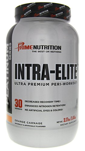 Prime Nutrition Platinum Series Intra-Elite Ultra Premium Peri-Workout Formula Orange Carnage 3.17lbs