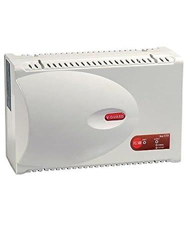 V Guard VG500 500 Watt Voltage Stabilizer for Air Conditioner  Grey