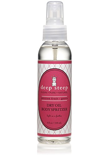 Deep Steep Dry Oil Body Spritzer, Passion Fruit Guava, 4 ...