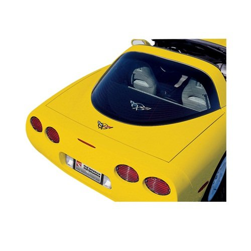 C5 Corvette Cargo Shade Apron with Embroidered Emblem Coupe Fits: 97 Through 04 Coupe Corvettes Performance Choice 605-013