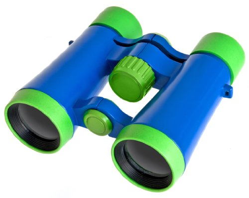 Bresser 4 x 30 Children's Binoculars - Blue/Green