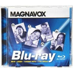 Magnavox 2x Blu-ray Recordable Disc - Single by Magnavox