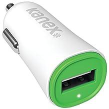 Kanex KCLA1PT24V2GN 2.4-Amp V2 USB Car Charger (White)