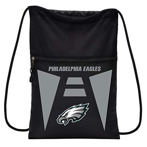 (Officially Licensed NFL Philadelphia Eagles Team Tech Backpack Backsack, One Size)