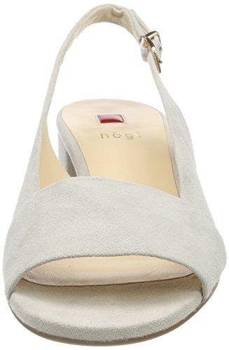 HÖGL Women's 5-10 2102 6700 Sling Back Heels Grey (Lightgrey 6700) Nzb49