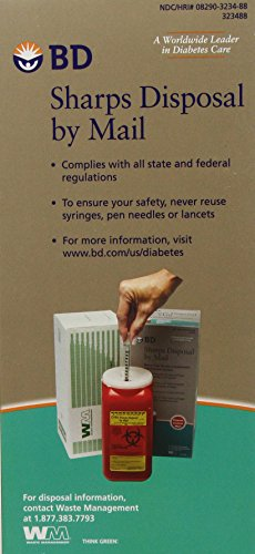BD Sharps Disposal by Mail Worry free Needle Disposal by Bd (Image #2)