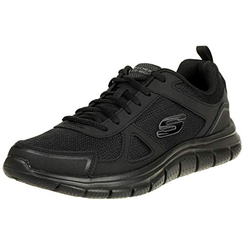 Skechers Track-scloric 52631-bkrd herensneakers laag