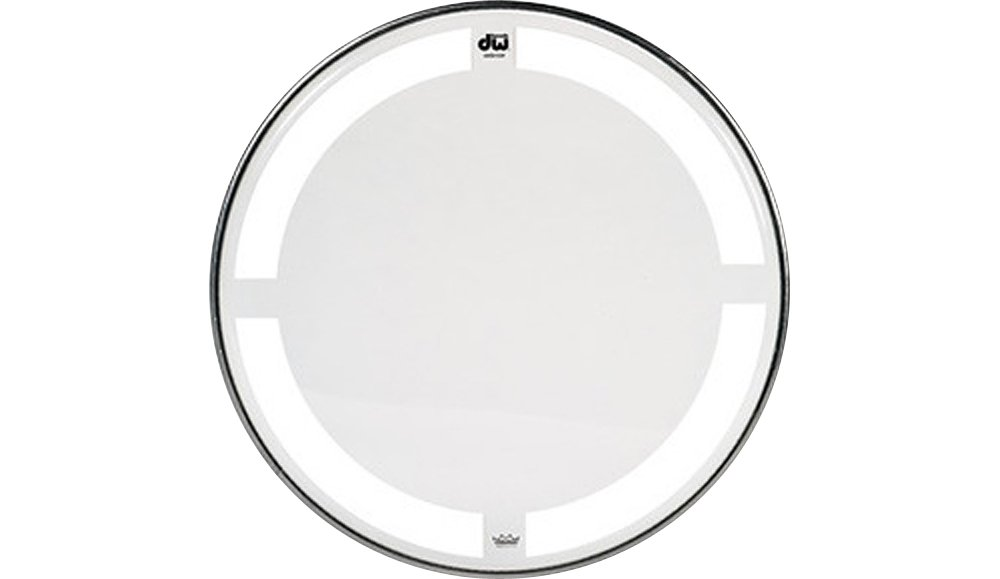 DW Coated/Clear Tom Batter Drumhead 10 in. Drum Workshop DRDHCC10