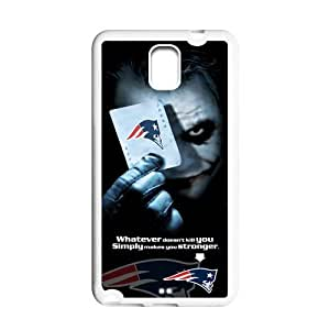 NFL New England Patriots Samsung Galaxy Note 3 N900 Case Cover The Joker Batman Patriots Galaxy Note 3 Cases