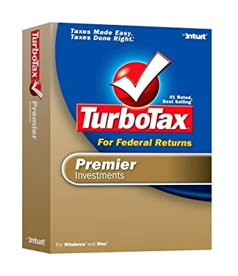 2006 TurboTax Premier Federal + State Investments Win/Mac [OLDER VERSION]