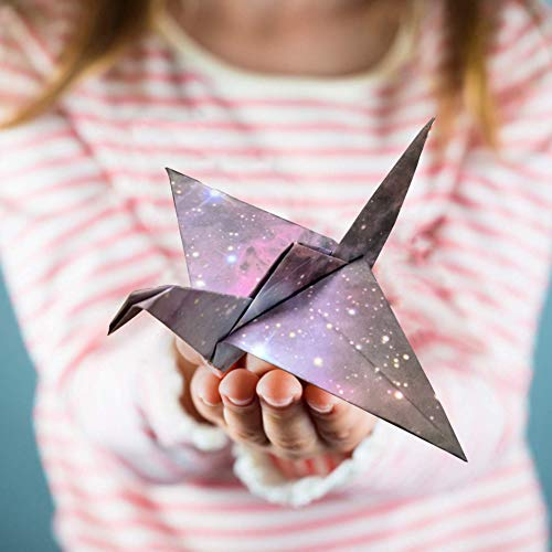 Koogel 472 Pcs Sky Origami Paper,6Inch Square Colored Paper Folding Star Paper Origami Folding Paper of Beautiful Galaxy Outer Space for Paper Arts Crafts Kids Grown-ups School Teachers