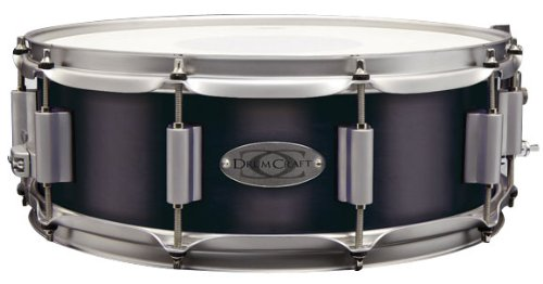Drum Craft DC838041 Series 8 Maple 10 x 6 Inches Snare Drum - Electric Black by Drum Craft
